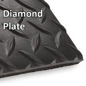Diamond Plate and Lava Twist Floormats (20' Roll)