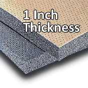 "1"" Acoustical Headliner and Wall Insulation (10' X 4.5' Roll)"