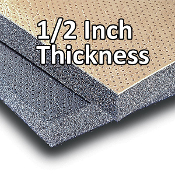 "1/2"" Acoustical Headliner and Wall Insulation (10' X 4.5' Roll)"
